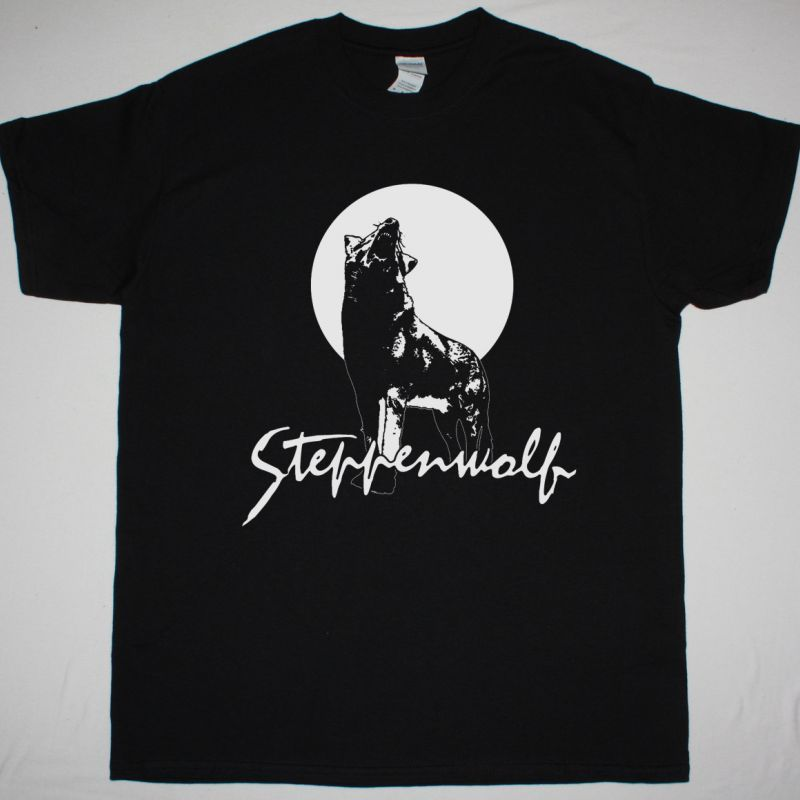 STEPPENWOLF HOUR OF THE WOLF NEW BLACK T-SHIRT