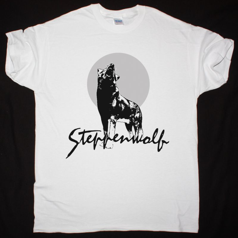 STEPPENWOLF HOUR OF THE WOLF NEW WHITE T-SHIRT