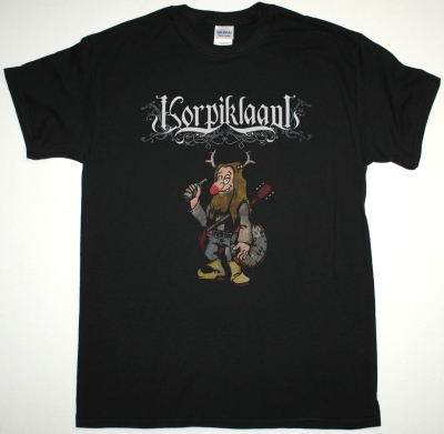 KORPIKLAANI VODKA NEW BLACK T-SHIRT