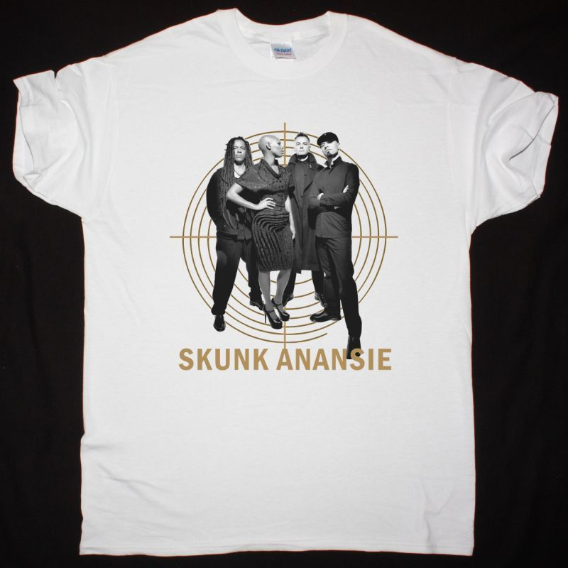 SKUNK ANANSIE BAND NEW WHITE T-SHIRT