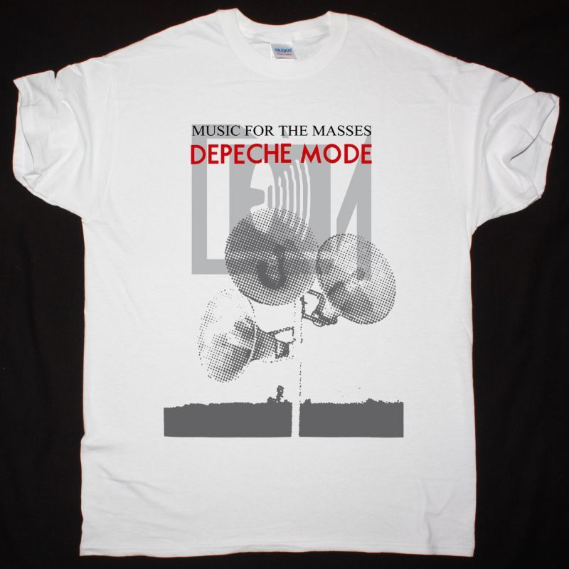 DEPECHE MODE COME BACK NEW WHITE T-SHIRT