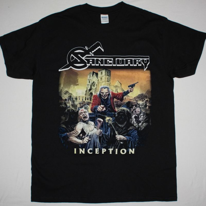 SANCTUARY INCEPTION NEW BLACK T-SHIRT