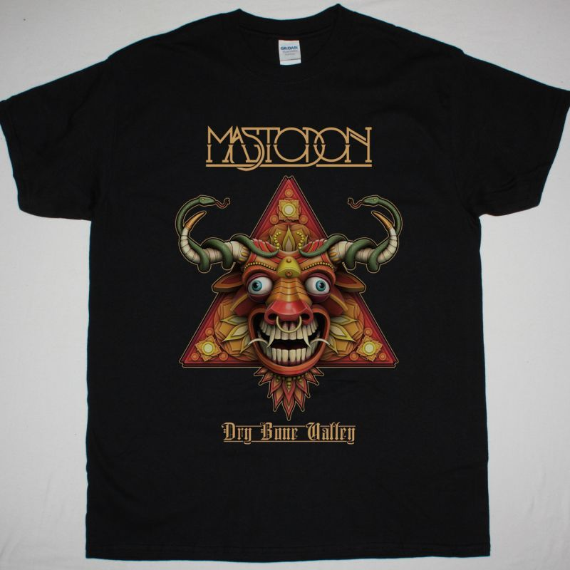 MASTODON DRY BONE VALLEY NEW BLACK T-SHIRT
