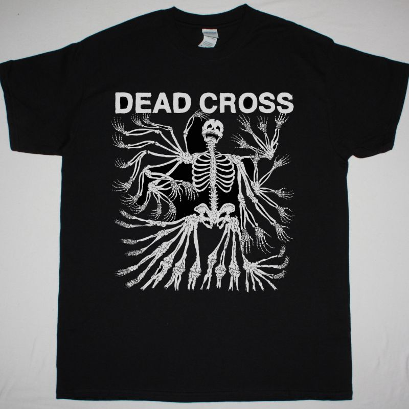 DEAD CROSS DEAD CROSS NEW BLACK T-SHIRT