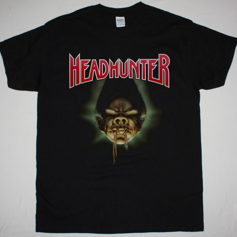 HEADHUNTER PARODY OF LIFE 1990 NEW BLACK T-SHIRT