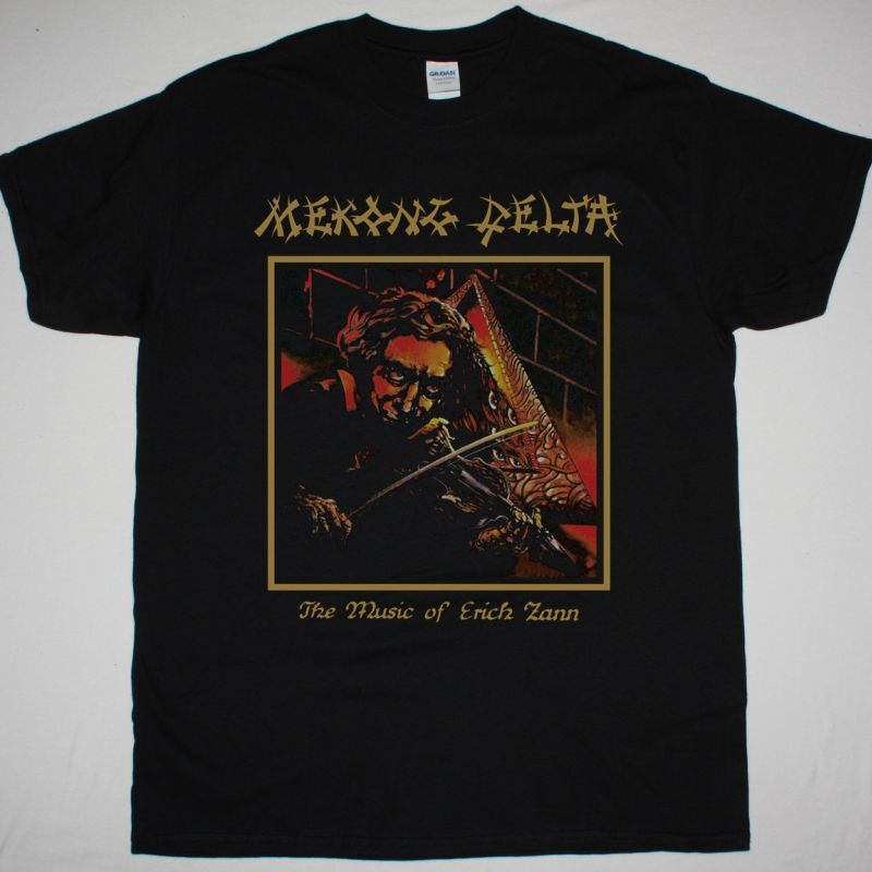 MEKONG DELTA THE MUSIC OF ERICH ZANN 1988 NEW BLACK T SHIRT