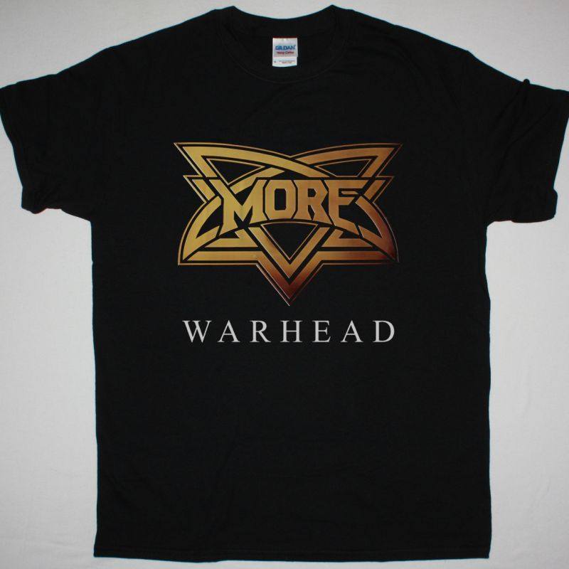 MORE WARHEAD 1981 NEW BLACK T-SHIRT