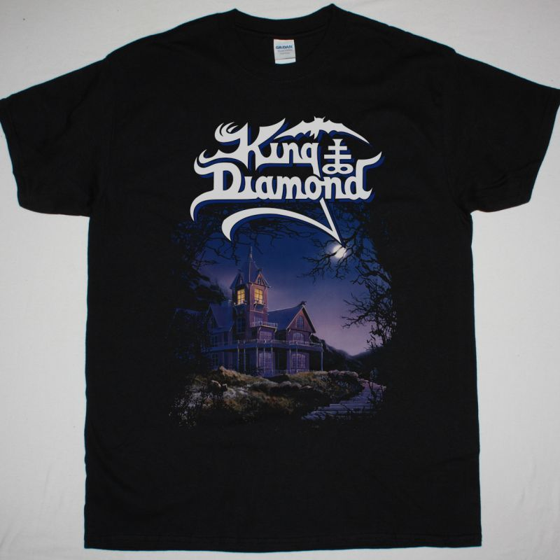 KING DIAMOND THEM 1988 NEW BLACK T-SHIRT