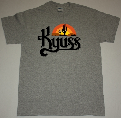 KYUSS BLACK WIDOW NEW SPORTS GREY T-SHIRT