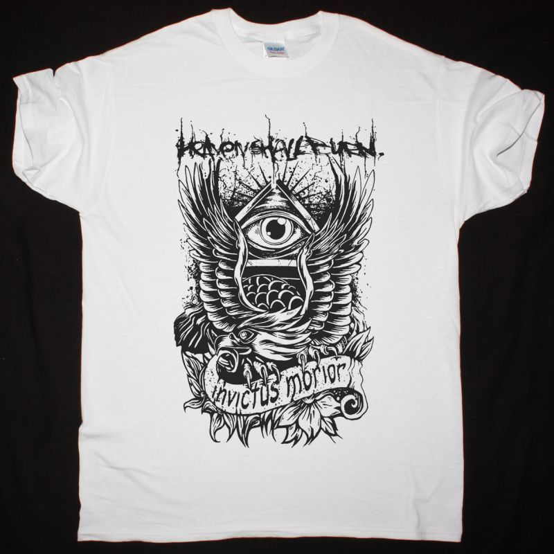 HEAVEN SHALL BURN INVICTUS MORIOR NEW WHITE T-SHIRT