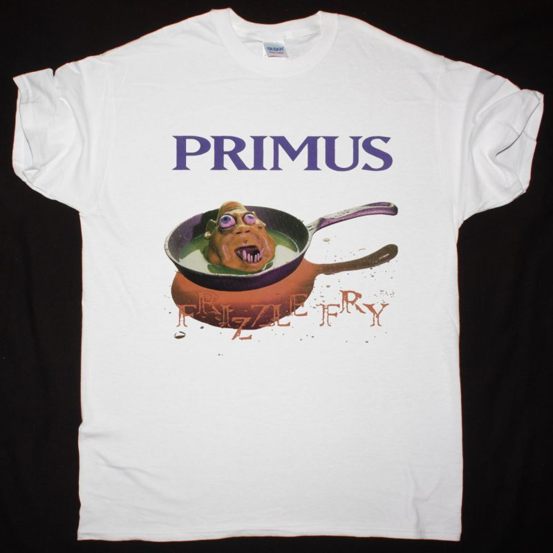 PRIMUS FRIZZLE FRY NEW WHITE T-SHIRT