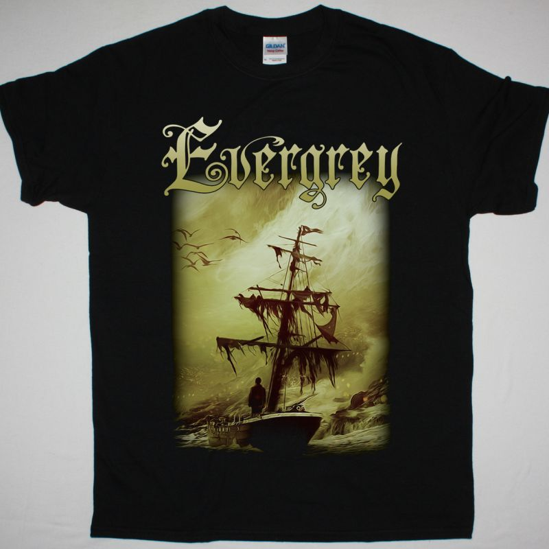 EVERGREY THE ATLANTIC NEW BLACK T SHIRT