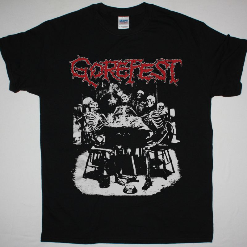 GOREFEST TANGLED IN GORE NEW BLACK T-SHIRT