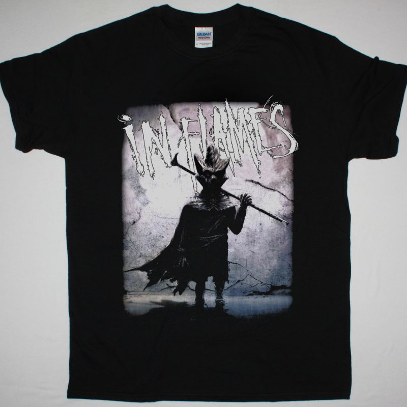 IN FLAMES I THE MASK NEW BLACK T-SHIRT
