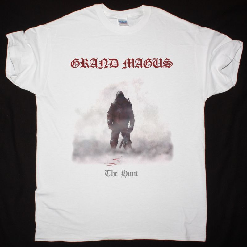 GRAND MAGUS THE HUNT NEW WHITE T-SHIRT