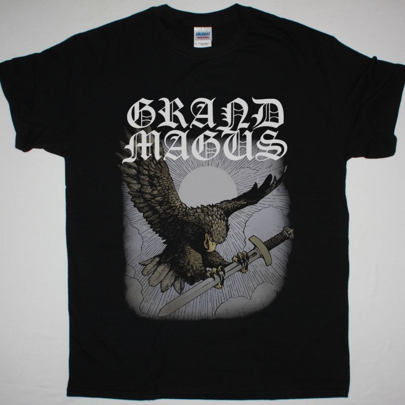 GRAND MAGUS SWORD SONGS NEW BLACK T-SHIRT