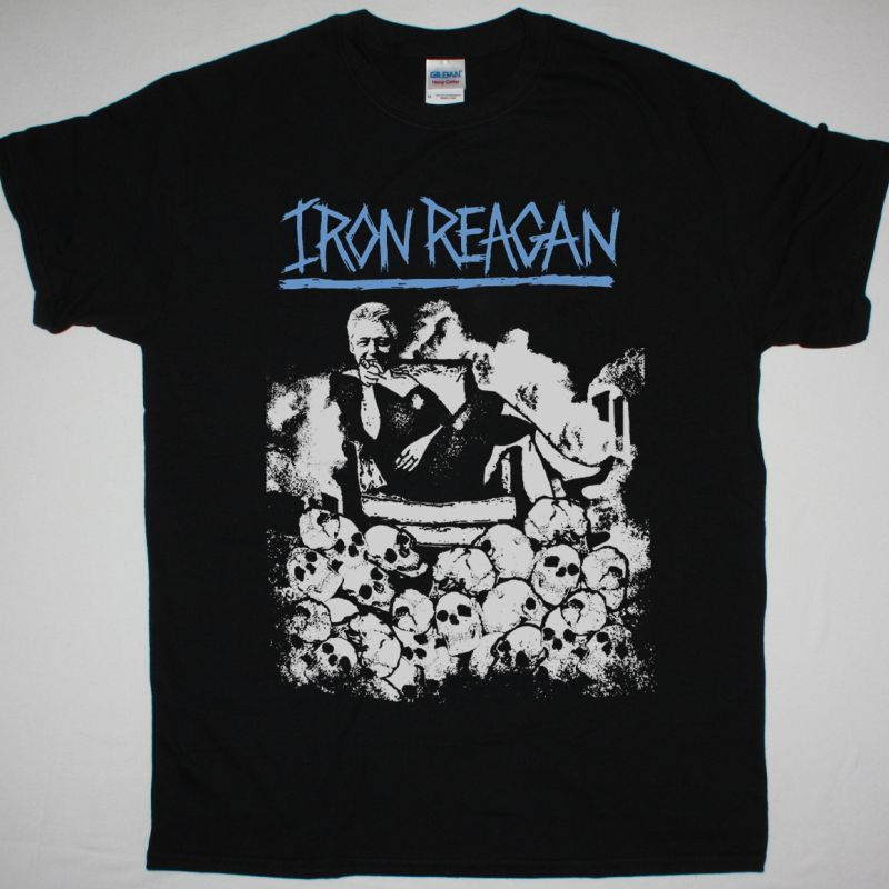 IRON REAGAN CLINTON IN A DRESS NEW BLACK T-SHIRT
