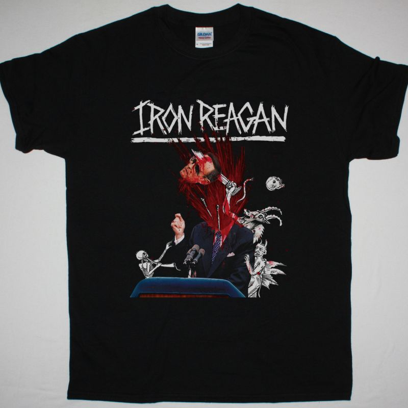 IRON REAGAN THE TYRANNY OF WILL NEW BLACK T-SHIRT