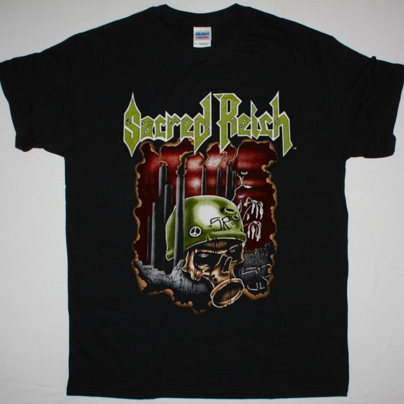 SACRED REICH CRIMES AGAINST HUMANITY NEW BLACK T-SHIRT