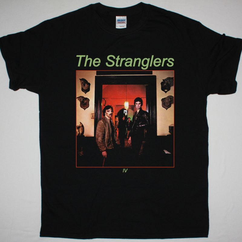 THE STRANGLERS RATTUS NORVEGICUS THE STRANGLERS IV NEW BLACK T-SHIRT