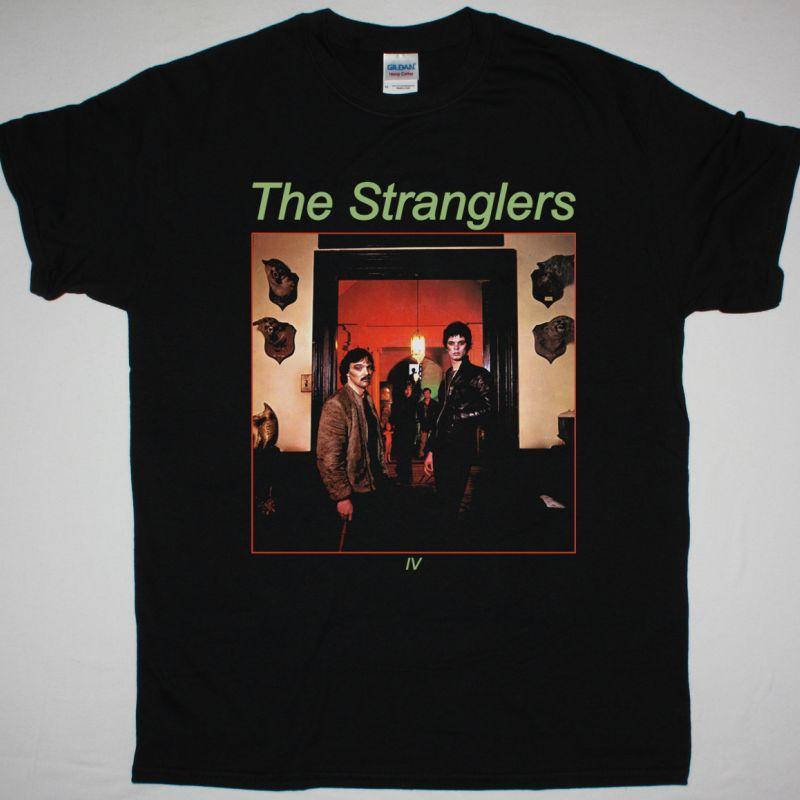 THE STRANGLERS RATTUS NORVEGICUS THE STRANGLERS IV NEW BLACK T-SHIRT
