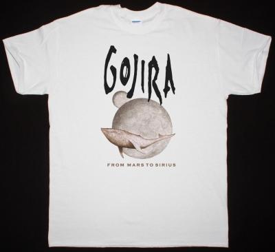 GOJIRA FROM MARS TO SIRIUS NEW WHITE T SHIRT