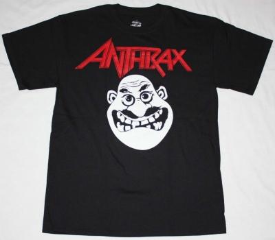 ANTHRAX NOT MAN NEW BLACK T-SHIRT