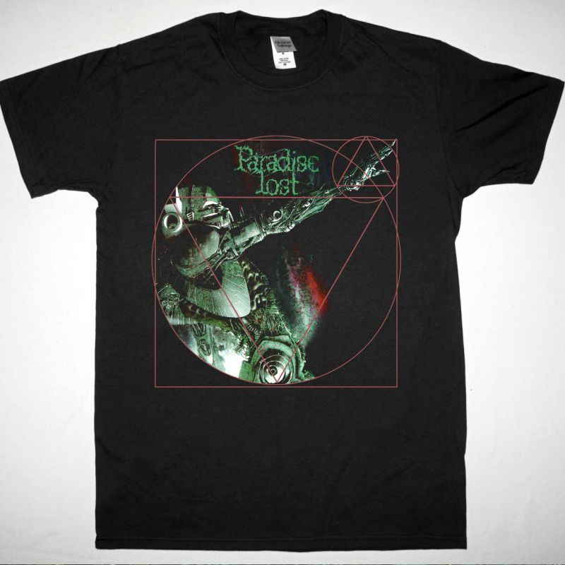 PARADISE LOST LOST PARADISE 1990 NEW BLACK T SHIRT
