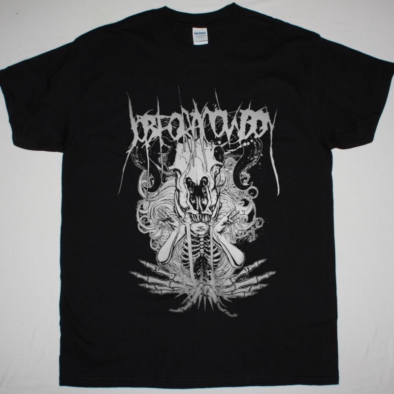 JOB FOR A COWBOY DEATH FOUNTAIN NEW BLACK T-SHIRT