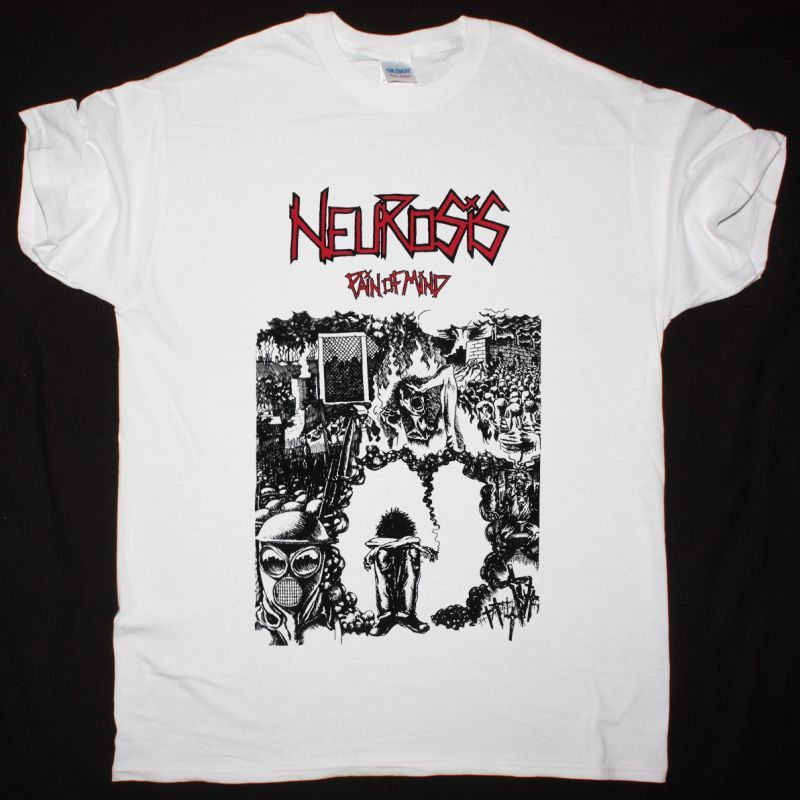 NEUROSIS PAIN OF MIND NEW WHITE T SHIRT