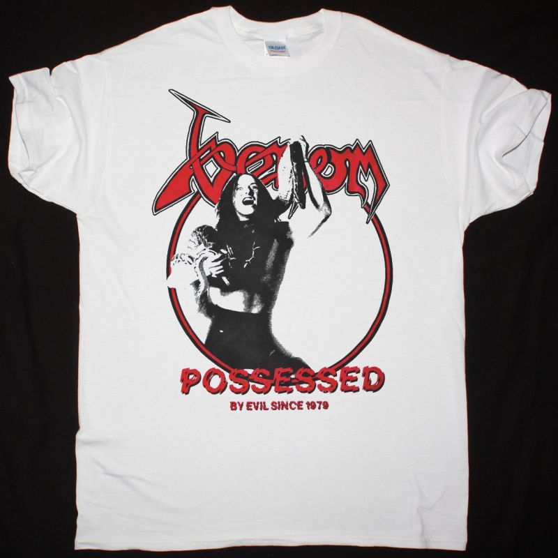 VENOM POSSESSED NEW WHITE T-SHIRT
