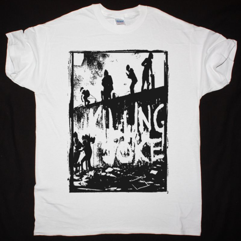 KILLING JOKE KILLING JOKE 1980 NEW WHITE T-SHIRT