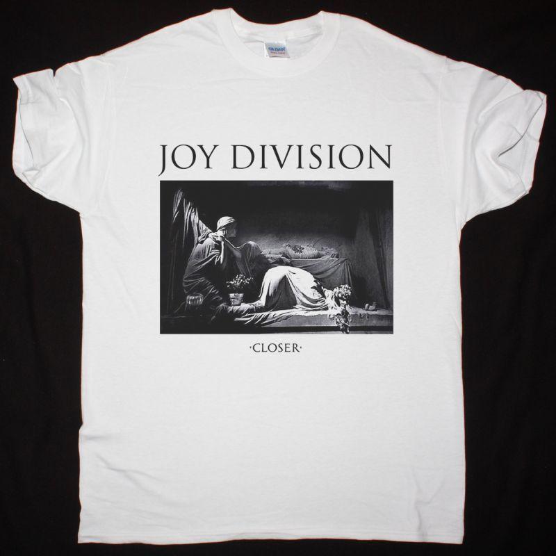 JOY DIVISION CLOSER NEW WHITE T-SHIRT