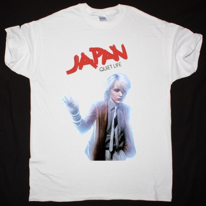 JAPAN QUIET LIFE NEW WHITE T SHIRT
