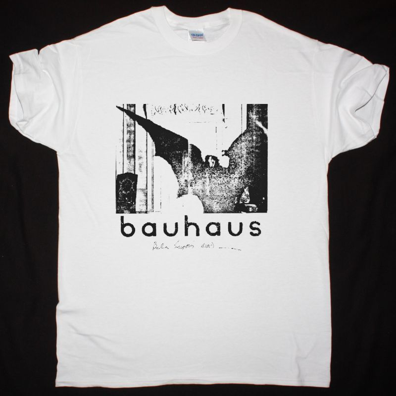 BAUHAUS CABINET OF DR CALIGARI NEW WHITE T-SHIRT