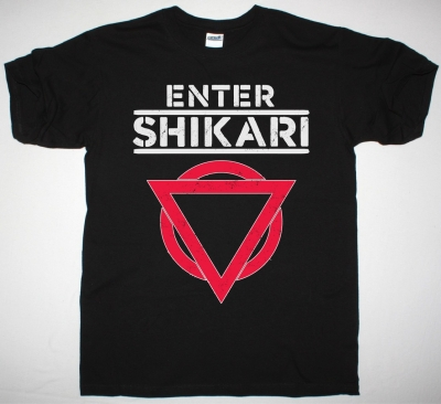 ENTER SHIKARI LOGO NEW BLACK T SHIRT