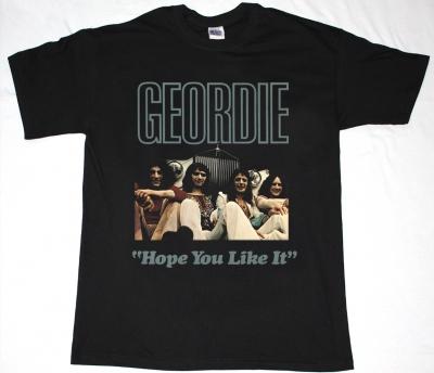 GEORDIE HOPE YOU LIKE IT NEW BLACK T-SHIRT
