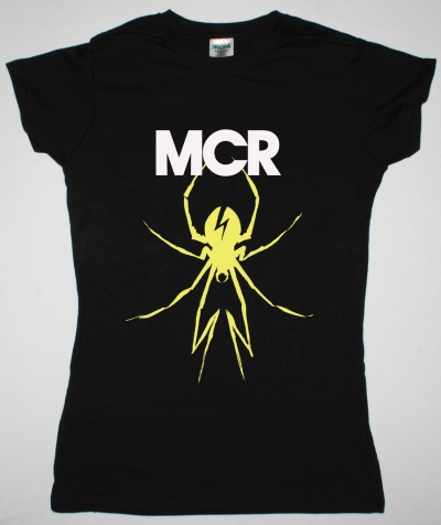 MY CHEMICAL ROMANCE DANGER DAYS NEW BLACK LADY T-SHIRT