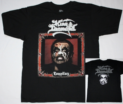 KING DIAMOND CONSPIRACY NEW BLACK T-SHIRT