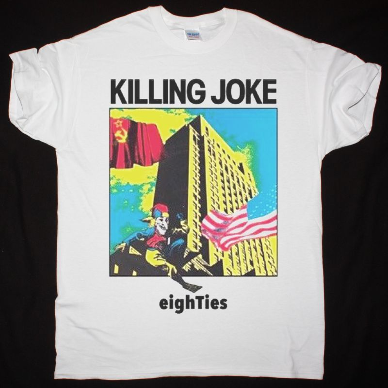 KILLING JOKE EIGHTIES NEW WHITE T-SHIRT