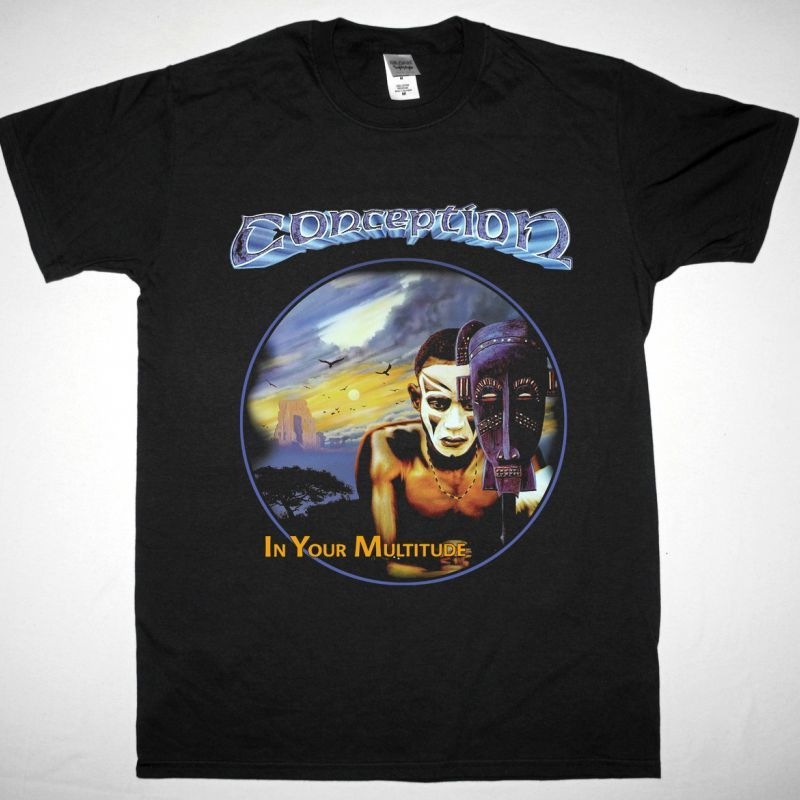 CONCEPTION IN YOUR MULTITUDE NEW BLACK T-SHIRT