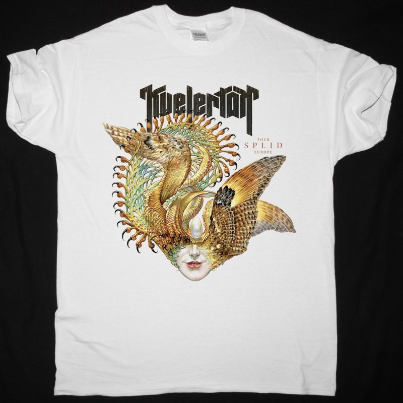 KVELERTAK SPLID TOUR NEW WHITE T-SHIRT