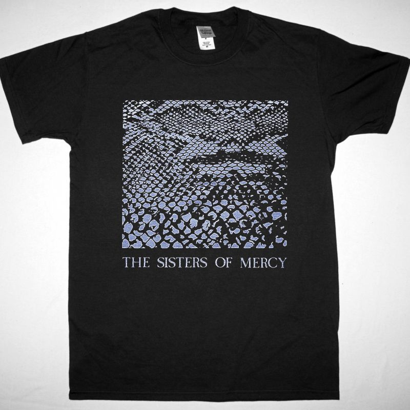 THE SISTERS OF MERCY ANACONDA / PHANTOM NEW BLACK T-SHIRT