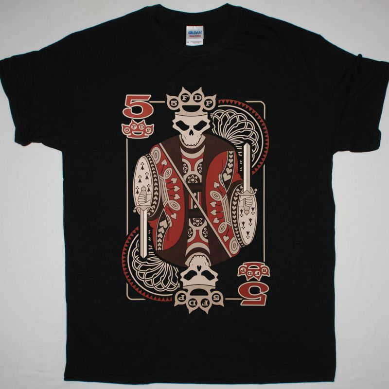 FIVE FINGER DEATH PUNCH KING NEW BLACK T-SHIRT