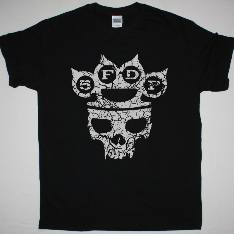 FIVE FINGER DEATH PUNCH KNUCKLEHEAD NEW BLACK T-SHIRT