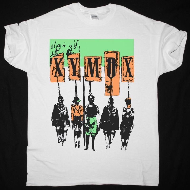 CLAN OF XYMOX VINTAGE RARE NEW WHITE T SHIRT