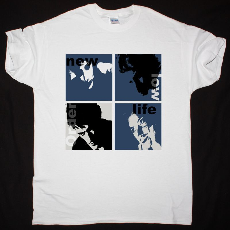NEW ORDER LOW LIFE WHITE T SHIRT