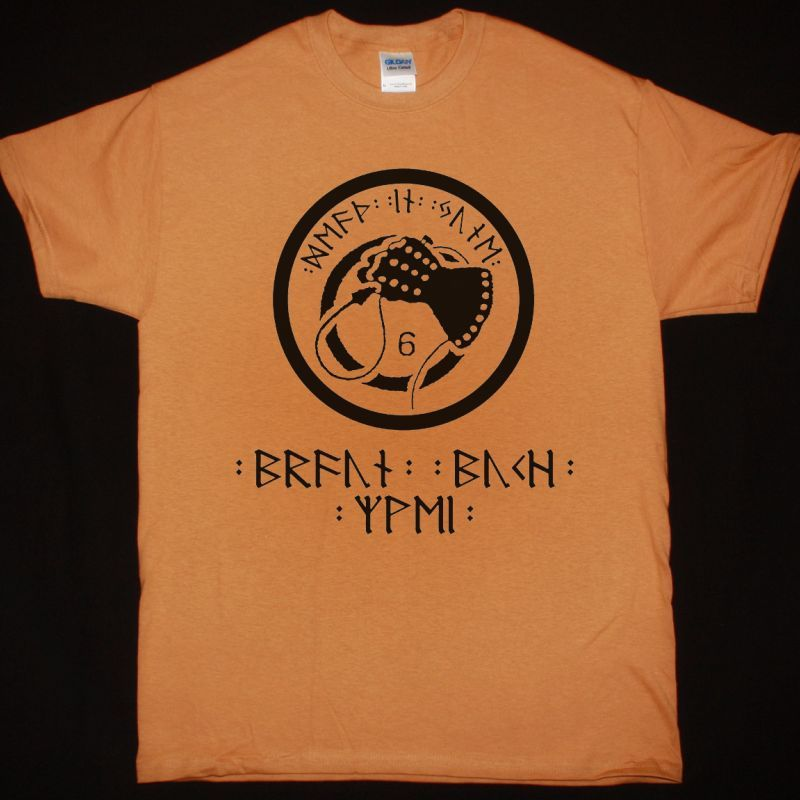 DEATH IN JUNE BRAUN BUCH ZWEI NEW CAMEL T-SHIRT