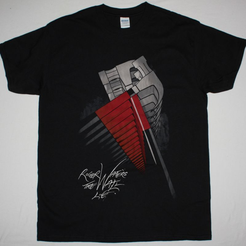 ROGER WATERS THE WALL T SHIRT NEW BLACK T-SHIRT