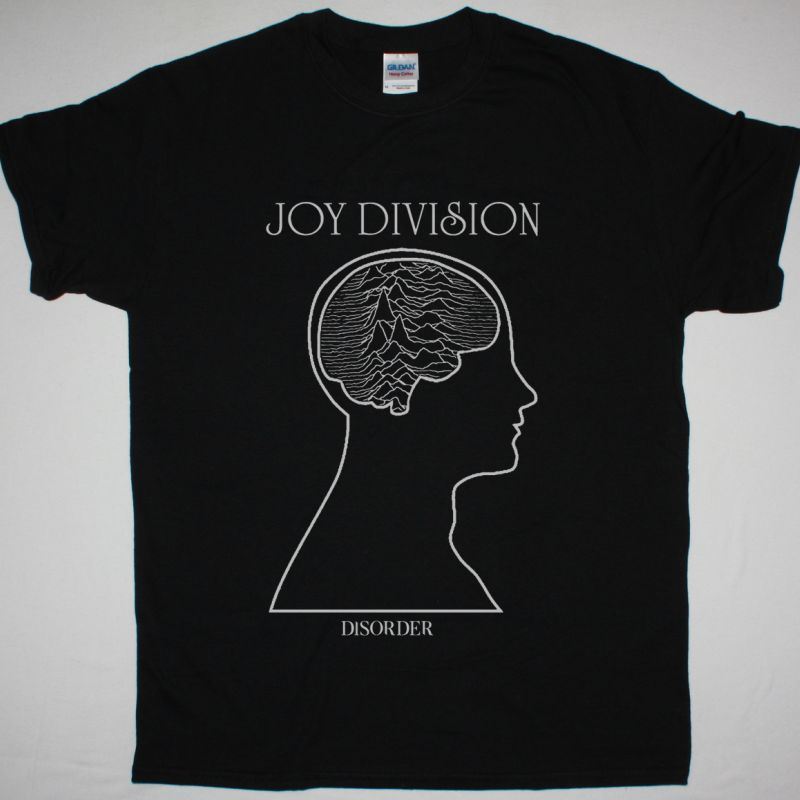 JOY DIVISION DISORDER NEW BLACK T-SHIRT